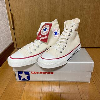 コンバース(CONVERSE)の【美品】コンバース オールスター made in USA オリジナル サイズ6H(スニーカー)