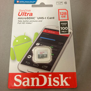 SanDisk - SanDisk マイクロSDカード 128GB