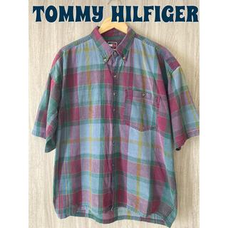 TOMMY HILFIGER - TOMMY HILFIGER トミーヒルフィガー BDシャツ チェック柄