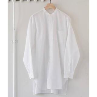 COMOLI - 未使用 COMOLI バンドカラーシャツ ホワイト サイズ3