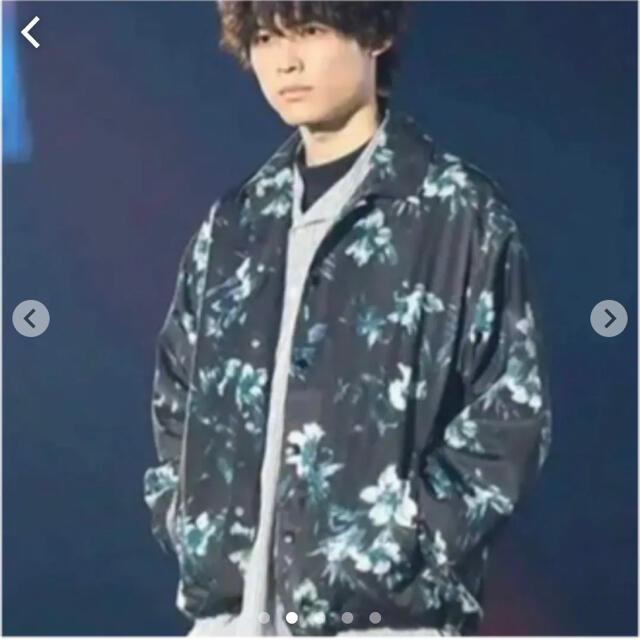 WEGO(ウィゴー)のWEGO SixTONES 京本大我 松村北斗 ジャケット コーチジャケット メンズのジャケット/アウター(ナイロンジャケット)の商品写真
