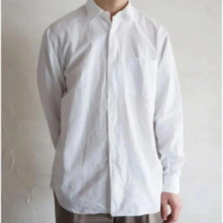 COMOLI - 未使用 COMOLI  シャツ ホワイト サイズ3