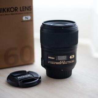 Nikon - Nikon 単焦点マクロ AF-S Micro 60mm f/2.8G ED