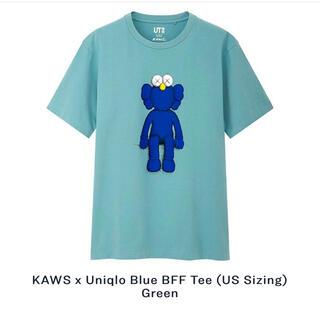 ユニクロ(UNIQLO)のユニクロ KAWS x Uniqlo Blue BFF Tee カウズ(Tシャツ/カットソー(半袖/袖なし))