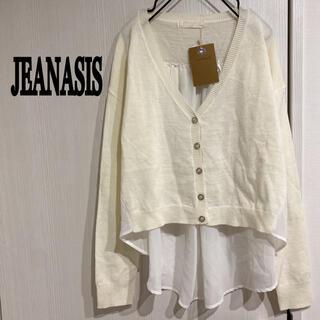 JEANASIS - ジーナシス 新品 シースルー カーディガン