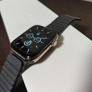 Apple - Applewatch Series6 44mm ステンレスモデル ゴールド