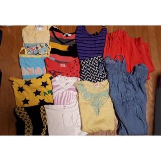 アーヴェヴェ(a.v.v)の120女の子夏物まとめ売り、ワンピ、ANAP、a.v.v、H&M、ディズニー(その他)