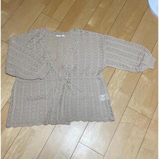 シマムラ(しまむら)のしまむら♡透かし編みカーディガン(カーディガン)