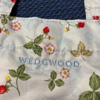 ウェッジウッド(WEDGWOOD)の【未使用】ウェッジウッド トートバッグ ワイルドストロベリー(トートバッグ)