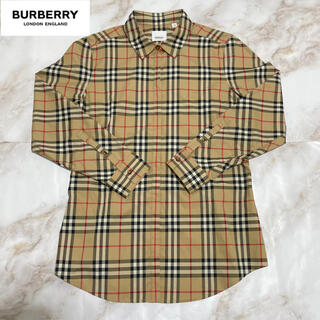 BURBERRY - Burberry バーバリー  シャツ 新品同様品 ベージュ ノバチェック