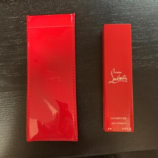 クリスチャンルブタン(Christian Louboutin)のルブタンリップスティックケース、香水(香水(女性用))