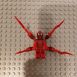 レゴ(Lego)のLEGOレゴ ミニフィグ マーベル スパイダーマン カーネイジ(積み木/ブロック)