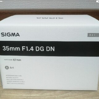 SONY - 新品 SIGMA 35mm F1.4 DG DN Art  ソニーEマウント
