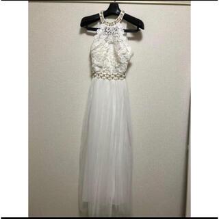 dazzy store - TIKA ロングドレス ホワイト 二次会 結婚式 ウエディング