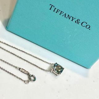 Tiffany & Co. - ティファニー ネックレス スパークラー グリーン アメジスト アメシスト