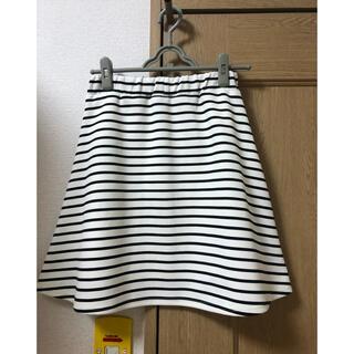 シマムラ(しまむら)のAラインスカート(ひざ丈スカート)