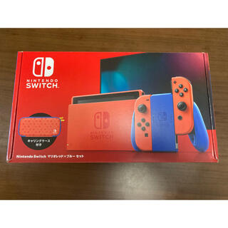 Nintendo Switch - Nintendo Switch マリオ レッド×ブルー セット