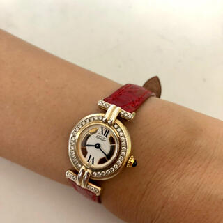 カルティエ(Cartier)のカルティエ 鑑定書付き 腕時計 作動確認済み  (腕時計)