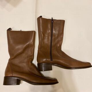 BARCLAY - Celica Barcley ブーツ 本革 茶色
