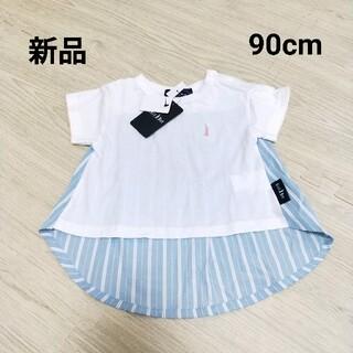 イーストボーイ(EASTBOY)の【新品】イーストボーイ EASTBOY Tシャツ チュニック 90cm(Tシャツ/カットソー)