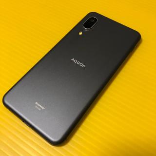 アクオス(AQUOS)のau AQUOS  SENSE3 basic SHV48 ブラック(スマートフォン本体)