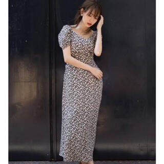 snidel - her lip to cherry pattern one piece 初期型