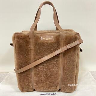 バレンシアガ(Balenciaga)の国内正規品 未使用 バレンシアガ バザール ショッパーS ムートン 保存袋付!(トートバッグ)
