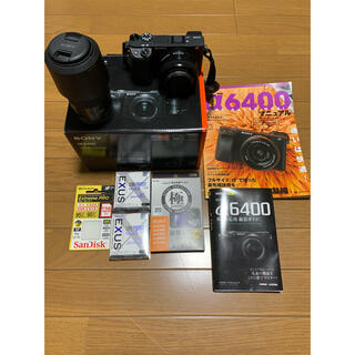 SONY - SONY a6400  ILCE−6400 ILCE-6400Y(B) セット