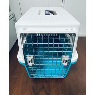 アイリスオーヤマ(アイリスオーヤマ)のアイリスオーヤマ  エアトラベルキャリー ATC670 美品 送料込(犬)