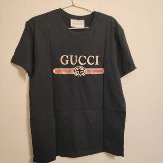 グッチ(Gucci)のgucci 黒 Tシャツ(Tシャツ/カットソー(半袖/袖なし))