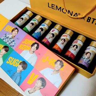 防弾少年団(BTS) - LEMONA  ×  BTS  防弾少年団 レモナドリンク紙袋 箱 瓶  3点セ