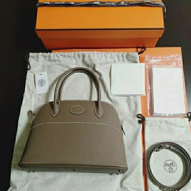 Hermes(エルメス)のHERMES♡新品未使用♡ボリード27♡エトゥープ♡シルバー金具♡レア レディースのバッグ(ハンドバッグ)の商品写真