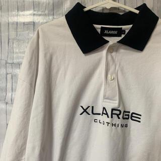 XLARGE - XLARGE 2TONE BIG POLO SHIRT