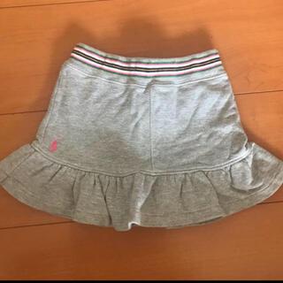 ラルフローレン(Ralph Lauren)のラルフローレン スカートパンツ  100 グレー(スカート)