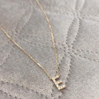 アーカー(AHKAH)のアーカー イニシャルネックレス ダイヤモンド(ネックレス)