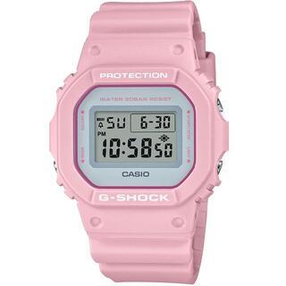 カシオ(CASIO)のカシオ G-SHOCK カラーモデル ユニセックス 腕時計 ピンク(腕時計(デジタル))