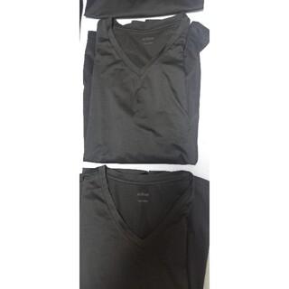 ユニクロ(UNIQLO)のエアリズム長袖・半袖セット(Tシャツ/カットソー(半袖/袖なし))