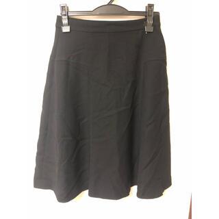 クレージュ(Courreges)のクレージュ スカート 黒 38(ひざ丈スカート)
