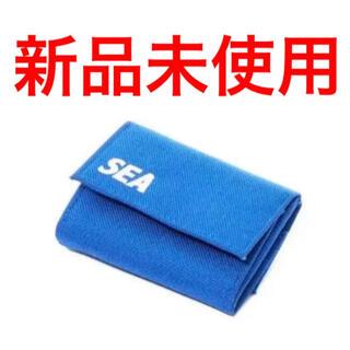 シュプリーム(Supreme)のウィンダンシー 財布 ブルー 新品未使用(折り財布)
