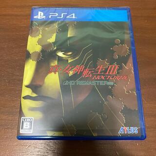 PlayStation4 - 美品 真・女神転生III ノクターン HDリマスター PS4