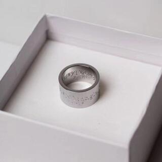 Maison Margiela 11 リバースロゴ リング メンズ 指輪
