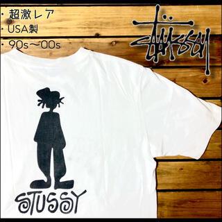 STUSSY - 希少 超激レア USA製 90s ステューシーSTUSSY シャドーマンtシャツ