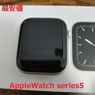 Apple Watch - 【美品】 Apple watch series5 44mm GPSモデル おまけ