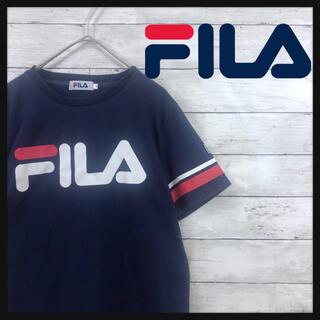 FILA - 『FILA』美品 フロントビックロゴ whemライン