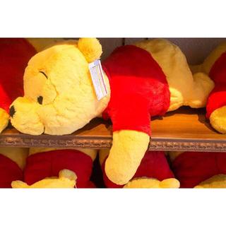 クマノプーサン(くまのプーさん)のディズニーランド限定 くまのプーさん ぬいぐるみ(キャラクターグッズ)