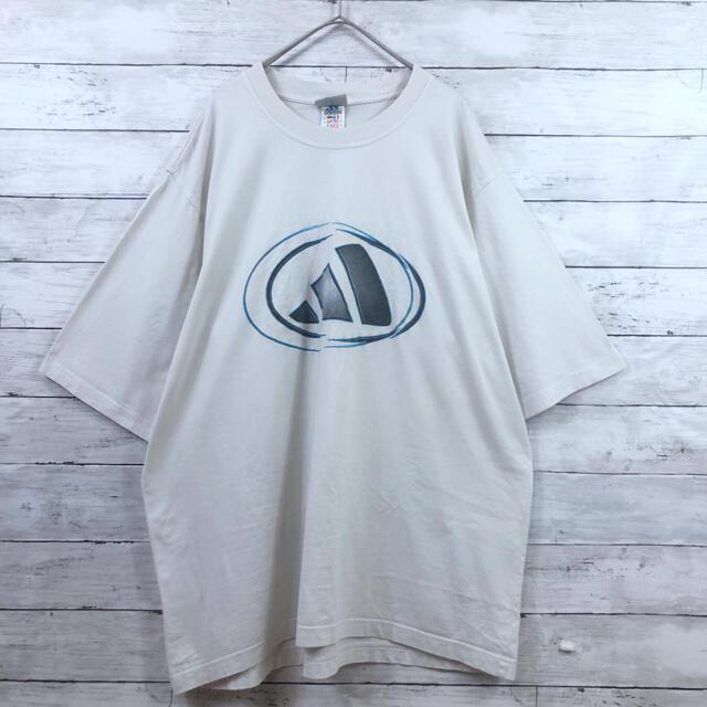 adidas(アディダス)の80〜90s adidas 激レア フロントバックプリント パフォーマンスロゴ メンズのトップス(Tシャツ/カットソー(半袖/袖なし))の商品写真