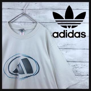 adidas - 80〜90s adidas 激レア フロントバックプリント パフォーマンスロゴ