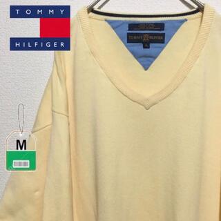 トミーヒルフィガー(TOMMY HILFIGER)のTommy Hilfiger トミーヒルフィガー 刺繍ロゴ ゆるダボ(ニット/セーター)
