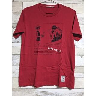 ユニクロ(UNIQLO)のUT ONE PIECEコラボTシャツ ルフィ&エース(Tシャツ/カットソー(半袖/袖なし))