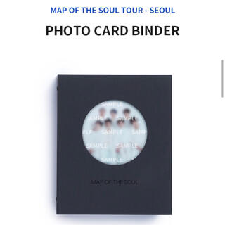 防弾少年団(BTS) - BTS MOS PHOTO CARD BINDER フォトカードバインダー